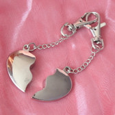 Joining Heart Keyring