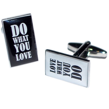 Do What You Love, Love What You Do Cufflinks