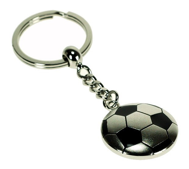689df08733dc4 Solid Football Shaped Keyring