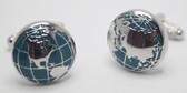 Globe / Earth / World Cufflinks