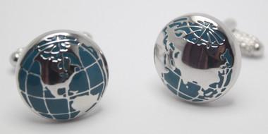 Globe / Earth / World Cufflinks