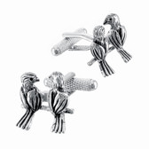 Beautiful Love Birds Cufflinks