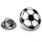 Football Ball Design Lapel Pin Badge