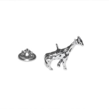 Giraffe Lapel Pin Badge