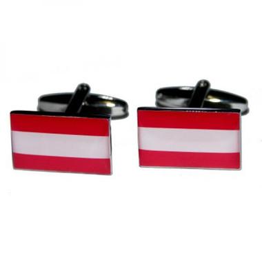 Austrian Flag cufflinks