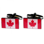 Canadian (Maple Leaf) Flag Cufflinks