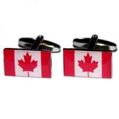 Canadian (Maple Leaf) Flag Cufflinks