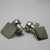 Celebrate anything and everything with Champagne Cork Style Chain-link Cufflinks