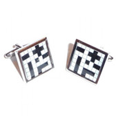 Crossword Style Cufflinks - the perfect answer!
