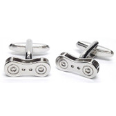 "Bicycle ""Bike Chain Link"" Cufflinks"
