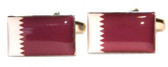Qatar Flag Cufflinks