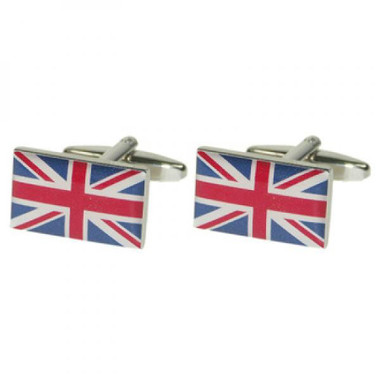 Borderless Union Jack Cufflinks