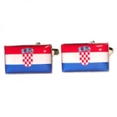 Croatia Flag Cufflinks