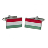 Hungarian Flag Cufflinks