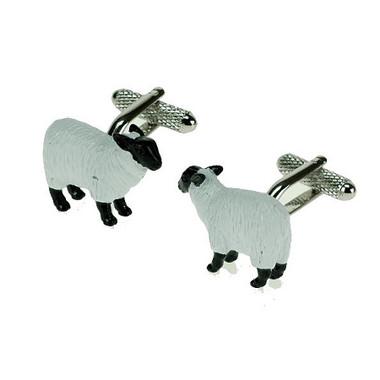 White Sheep Cufflinks