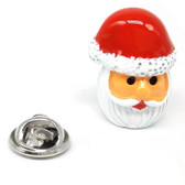 Father Christmas Santa Claus Lapel Pin Badge