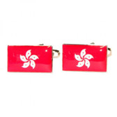 Flag of Hong Kong Cufflinks