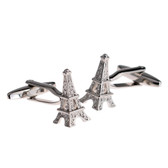 Eiffel Tower 3D Cufflinks