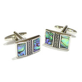 Abalone Shell Cufflinks