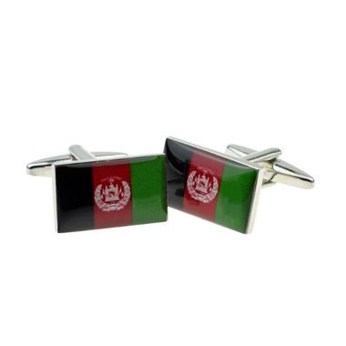 Afghanistan Flag Cufflinks