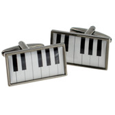 Piano Keyboard cufflinks