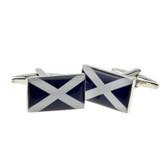 Flag of Scotland cufflinks
