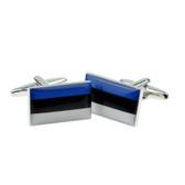 Estonian Flag Cufflinks