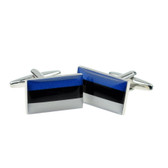 Estonian Flag Cufflinks