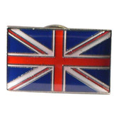 Lapel Pin Badge as the Union Jack flag