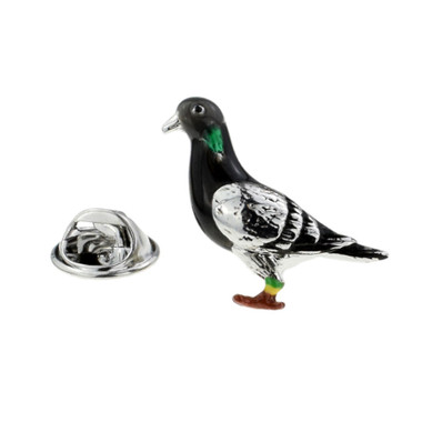 Pigeon Lapel Pin Badge
