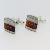 Smooth as Malt Whiskey - our fabulous Whiskey Tumbler Style Cufflinks are a sleek addition to any outfit!
