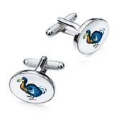 Dodo design cufflinks