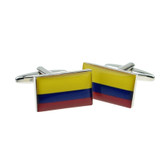 Colombian Flag Cufflinks