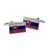 Slovakia Flag Cufflinks