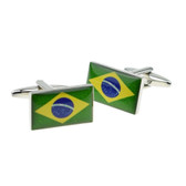 Flag of Brazil Cufflinks