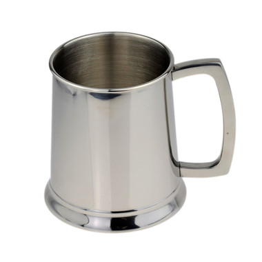 Polished Tankard 1 Pint Stainless Steel