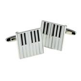 Enamel Piano Keys Cufflinks