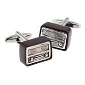 Retro Wireless Radio Cufflinks