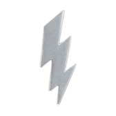 Lightning Bolt Lapel Pin Badge