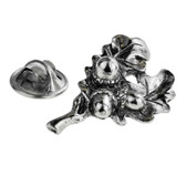Oak Leaf with Acorn in English pewter lapel pin badge