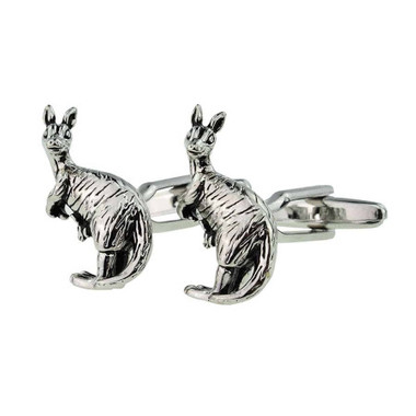 Put a spring in your step with our Kangaroo cufflinks!