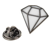 Diamond Shaped Lapel Pin Badge