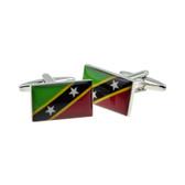 Flag of Saint Kitts and Nevis cufflinks