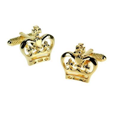 British Crown Cufflinks