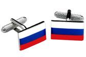 Russian Flag Cufflinks