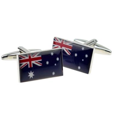 Flag of Australia cufflinks