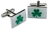 Shamrock Flag cufflinks