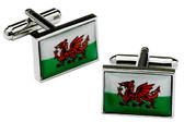 Welsh Flag Cufflinks