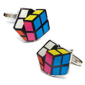 Cube puzzle style cufflinks