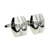 Crystal Thong / G-String Style Cufflinks